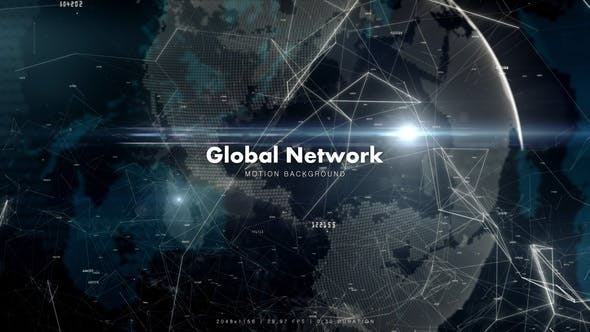 Thumbnail for Global Network with Numbers