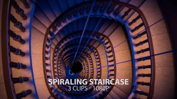 Thumbnail for Declining Spiraling Staircase