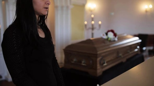Thumbnail for Woman Makes Speech at Funeral in Orthodox Church 7