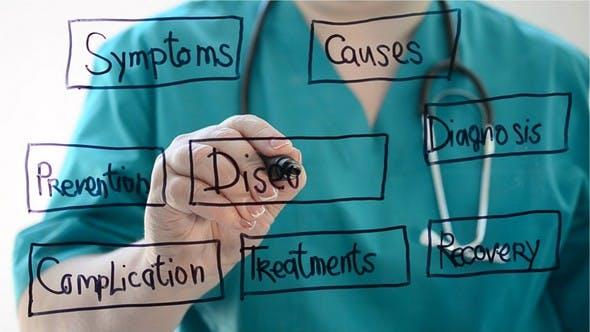 The Flowchart on Medical Examination