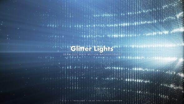 Thumbnail for Blue Glitter Lights