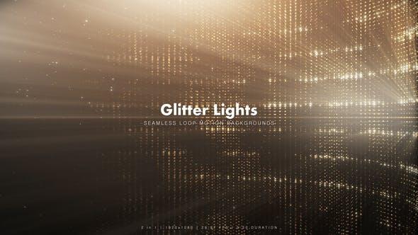 Thumbnail for Golden Glitter Lights 3