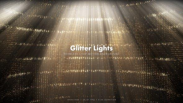 Thumbnail for Golden Glitter Lights 2