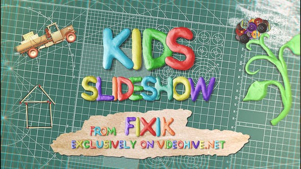 Thumbnail for Kids Slideshow  | After Effects Template