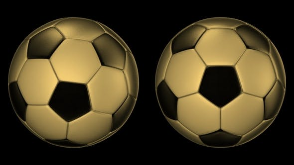 Cover Image for Metall Soccer Balls Rotating on the Axes 360 Degree