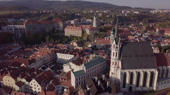 Thumbnail for Panorama of Cesky Krumlov Old Town