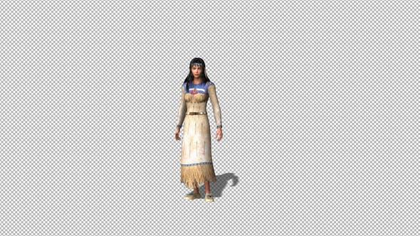 Thumbnail for Native American Woman