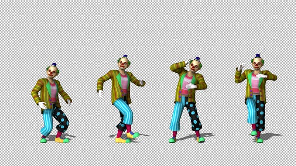 Thumbnail for Clown Mime Dance