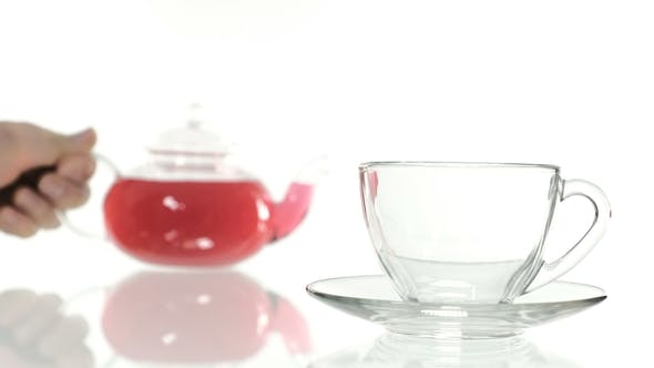 Thumbnail for Making Hibiscus Tea in a Glass of a Cup of Tea