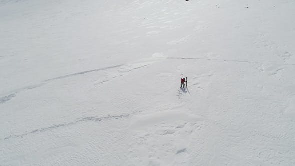 Thumbnail for Skier Walking