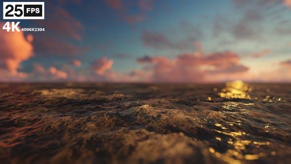 Thumbnail for Flying Through Sea 03 4K