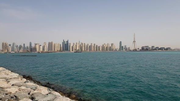Cover Image for Dubai, UAE. Dubai Marina Is a Famous Fashionable Area and Marina