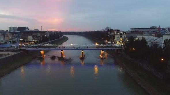 Cover Image for Night City, Uzhgorod, Ukraine
