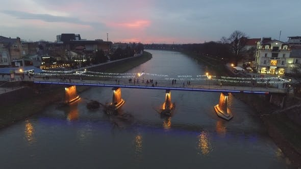 Thumbnail for Night City, Uzhgorod, Ukraine