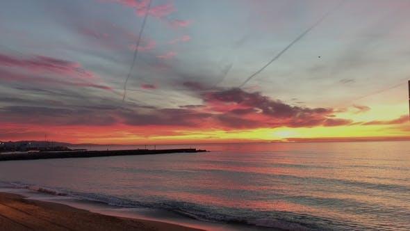 Thumbnail for Tranquil Sunrise in Paradise Beach on Ocean