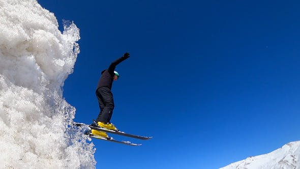 Cover Image for Skier Jumping