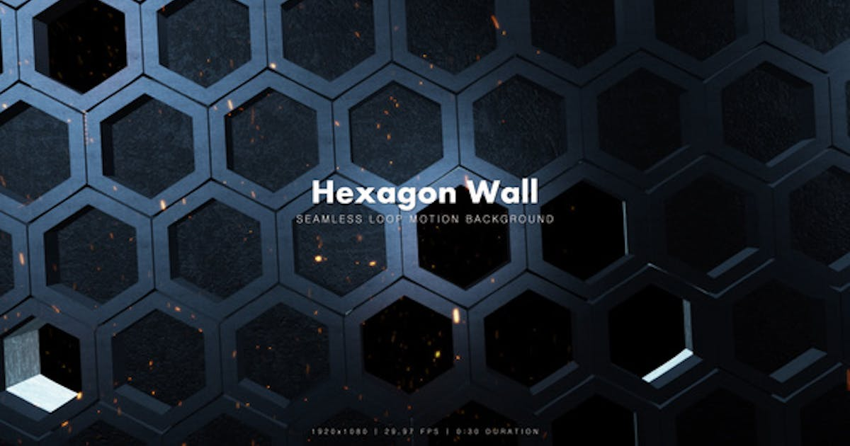 Epic Hexagon Wall