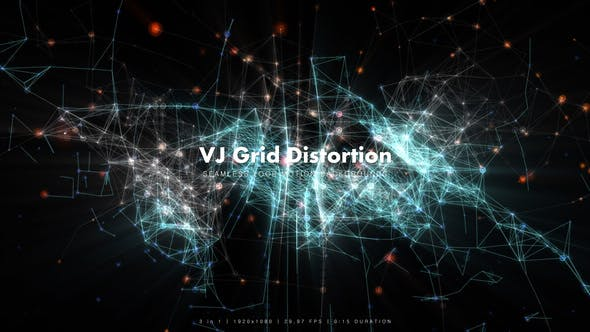 Thumbnail for VJ Grid Distortion