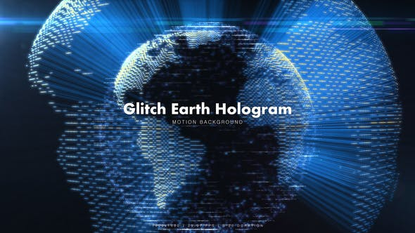 Thumbnail for Glitch Earth Hologram 7