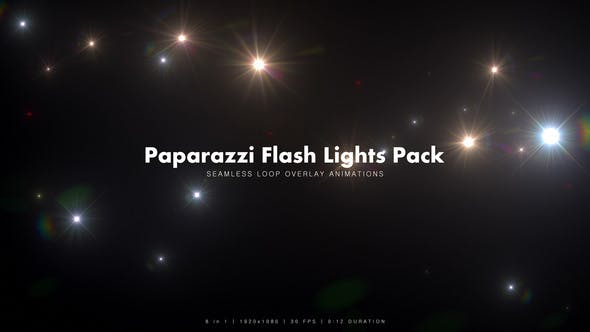 Thumbnail for Paparazzi Flash Lights Pack