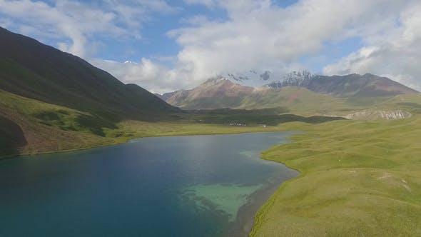 Thumbnail for Lake and Lenin Peak