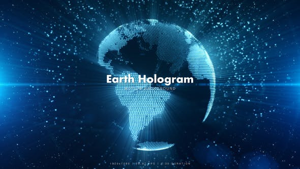 Thumbnail for Blue Earth Hologram 4