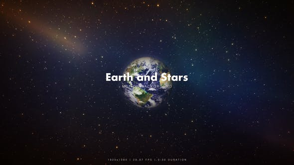 Thumbnail for Earth and Stars Around
