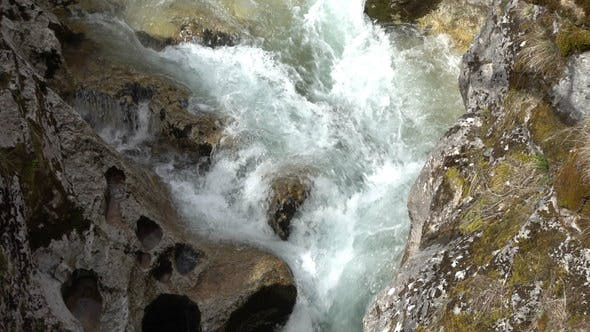 Thumbnail for Rapid Stream of Mountain River 4