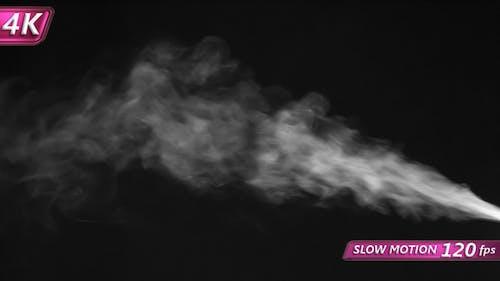 Jet of Medium-Intensity Steam