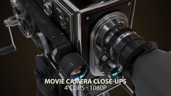 Thumbnail for Vintage Video Camera Closeups