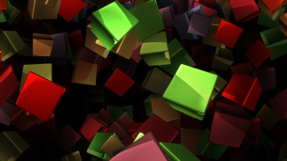 Thumbnail for Cubes Reflect Loop