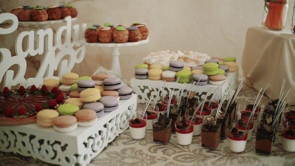 Thumbnail for Candy Bar Hochzeit Rot, Süßigkeiten-Buffet