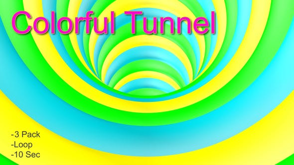 Thumbnail for Colorful Tunnel