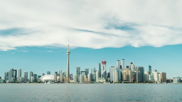 Thumbnail for Toronto Skyline on a Clear Day