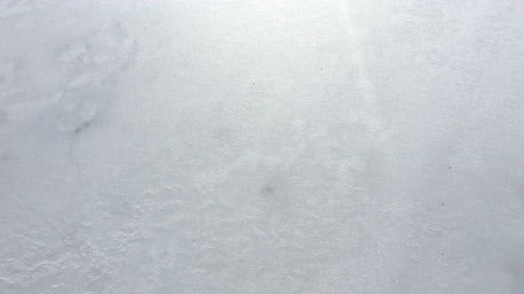 Thumbnail for Flying above ice on lake surface 4K drone video