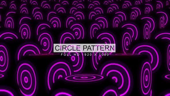 Thumbnail for Circle Pattern VJ Loops Background