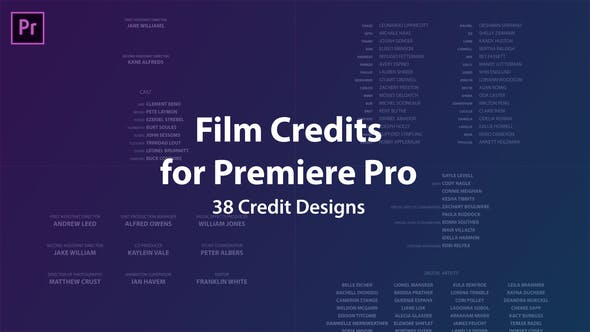 Cover Image for Film Credits Kit