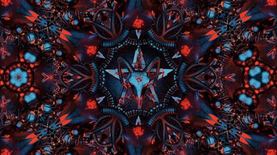 Devil Sign Mandala