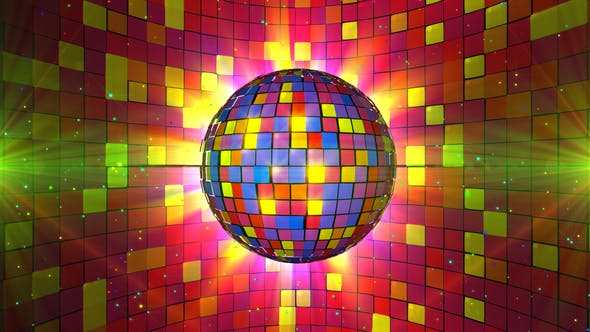 Colorful Disco Ball - product preview 0