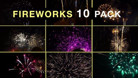Thumbnail for Fireworks Compilation 10 Pack