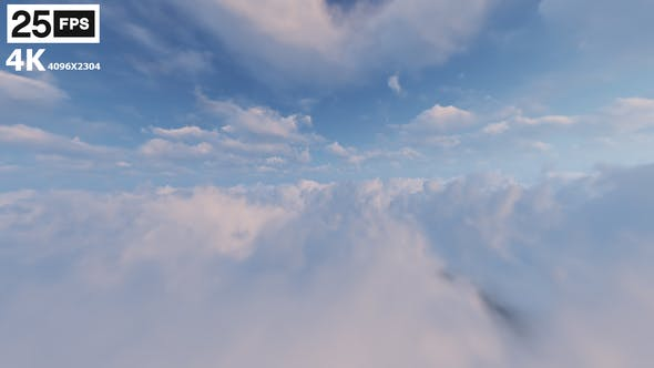 Thumbnail for Flying Through Clouds 04 4K
