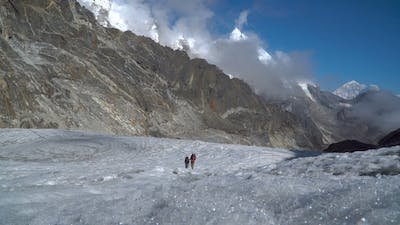 Girls Mountaineers in the Himalayas