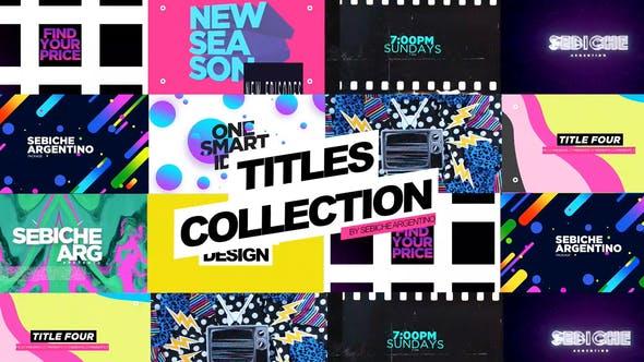 Thumbnail for Collection de titres