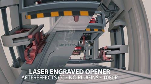Laser Engraved Opener