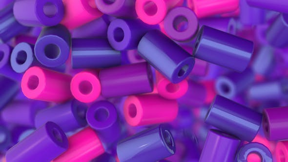 Purple Cylinders Transitions