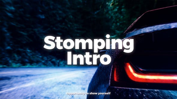 Cover Image for Stomping Intro