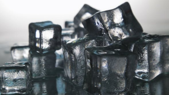 Thumbnail for Ice Cubes for Drinks. Simulate Cold Ice Cubes