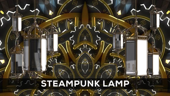 Thumbnail for Steampunk Lamp