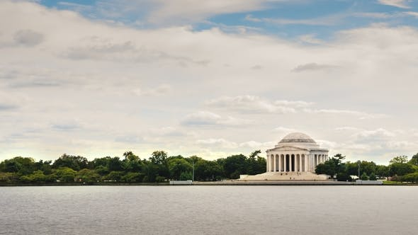 Thumbnail for Sights of Washington, District of Columbia. The Jefferson Memorial