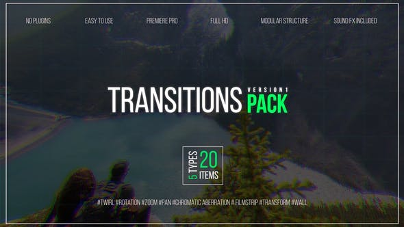 Thumbnail for Transitions Pack V.1
